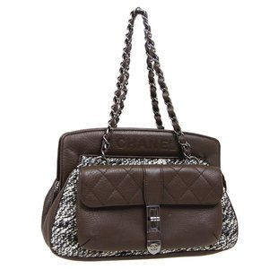 CHANEL 2.55 Line Quilted CC Chain Hand Bag